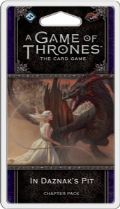 A Game of Thrones: The Card Game (Second Edition) - In Daznak's Pit Chapter Pack